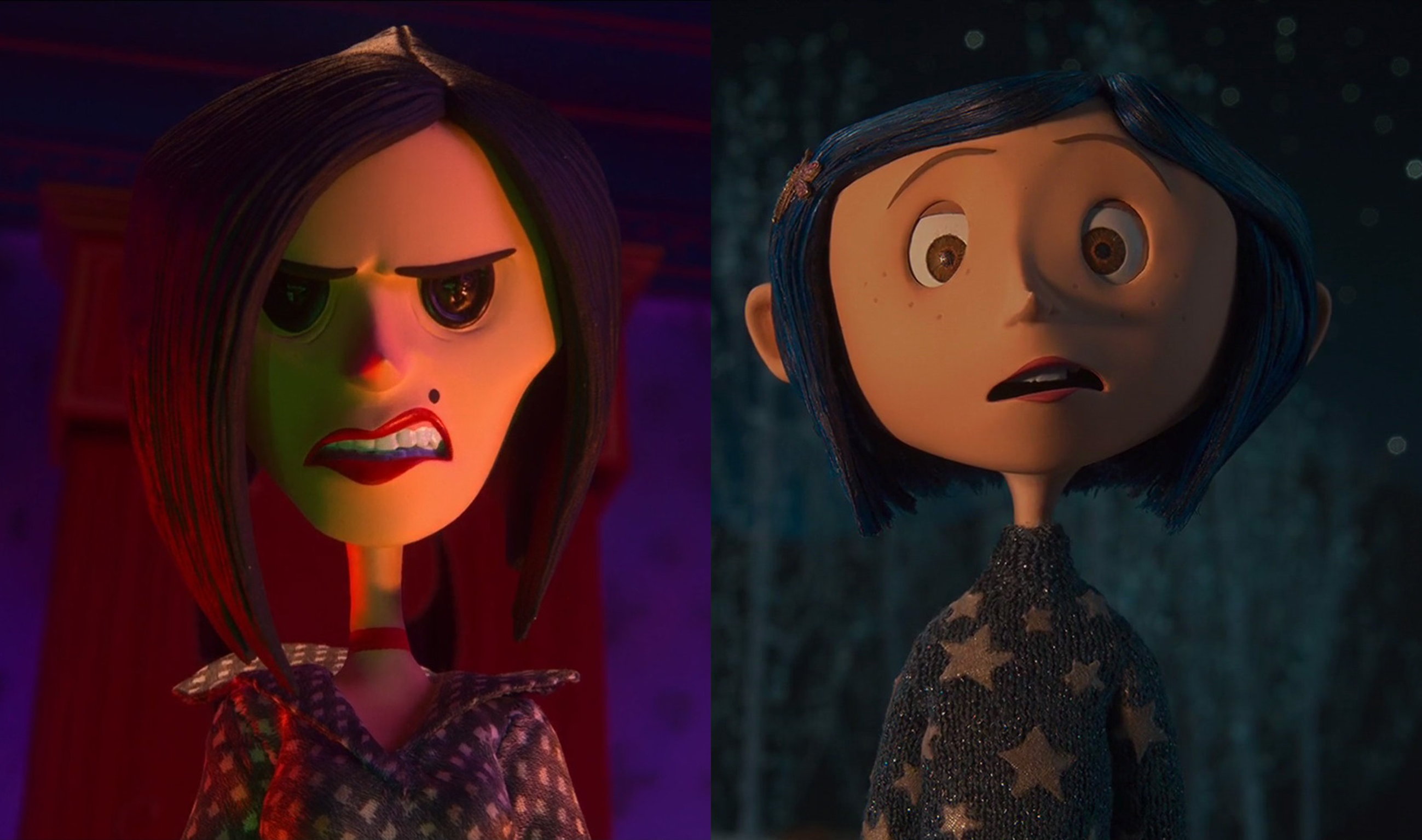 Coraline Other Mother Transformation